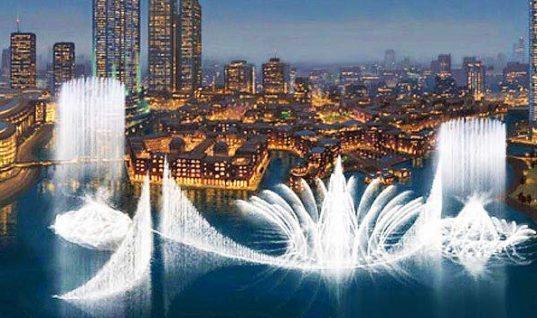 Μαγικό θέαμα! Σιντριβάνι στο Ντουμπάι «χορεύει» στο Ι will always love you και είναι φαντασμαγορικό!