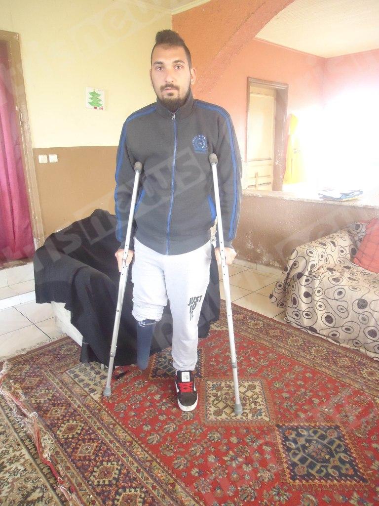 Η περιπέτεια του 26χρονου Παναγιώτη από τα Λεχαινά: «Πάθε και κάτι άλλο για να αυξηθεί το ποσοστό αναπηρίας…»