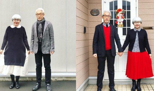 Είναι παντρεμένοι 37 χρόνια και ντύνονται κάθε μέρα ασορτί!