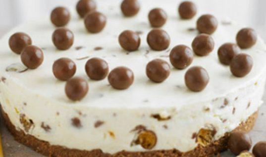 Πανεύκολο cheesecake Maltesers έτοιμο σε 15 λεπτά!