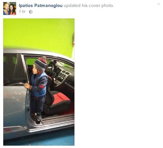 Συγκλονιστικός ο πατέρας του δυστυχήματος με την Πόρσε - Σπαρακτική φωτογραφία στο Facebook του (Photo)