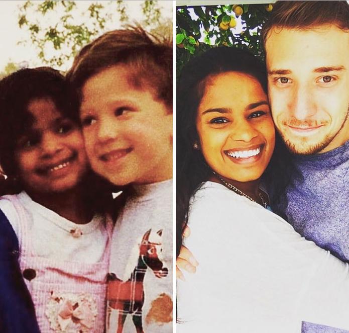 Γνωρίστηκαν στον παιδικό σταθμό και 20 χρόνια μετά...παντρεύτηκαν! (εικονες)