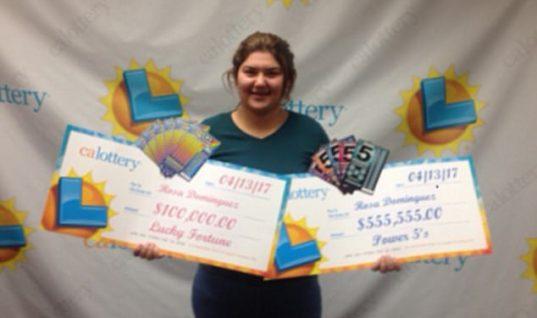 Τύχη βουνό: 19χρονη κέρδισε το λαχείο δύο φορές σε μια εβδομάδα!