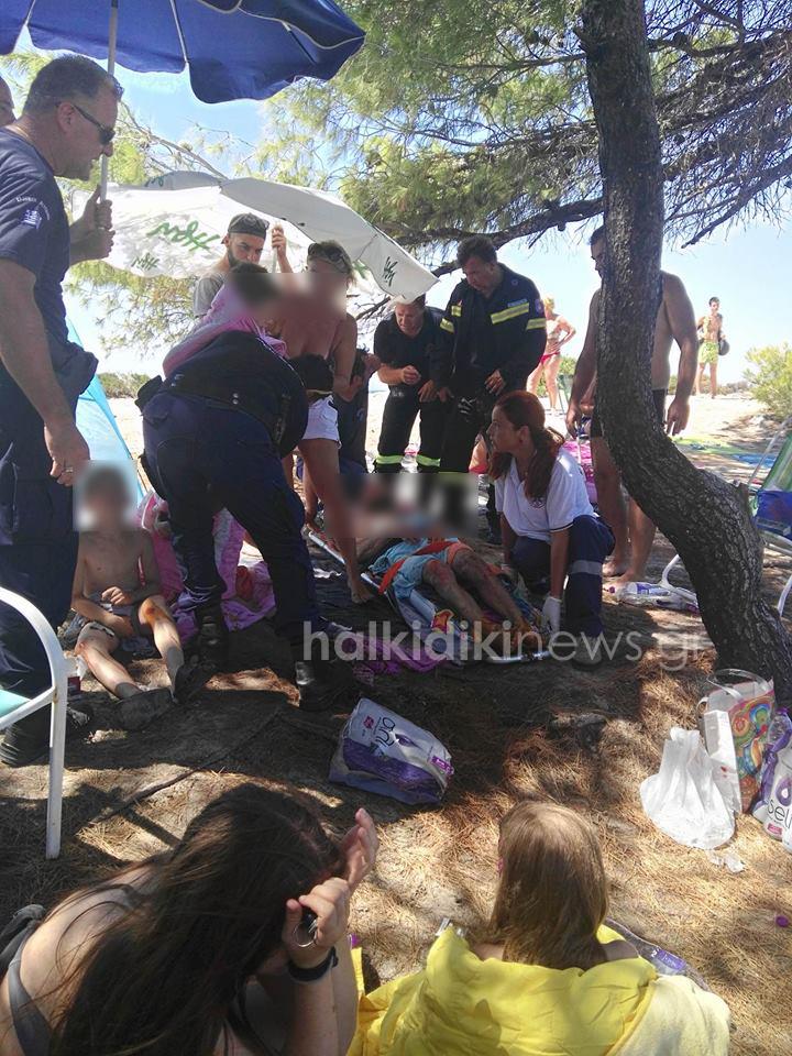 Χαλκιδική: Τραυματίστηκε οικογένεια – Έσκασε γκαζάκι μέσα στη σκηνή - Σε σοβαρή κατάσταση ο πατέρας!
