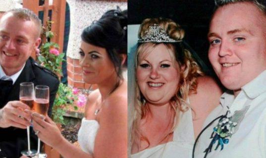 Ένα πρώην υπέρβαρο ζευγάρι παντρεύτηκε ξανά για να βγουν πιο sexy στις φωτογραφίες (εικόνες)