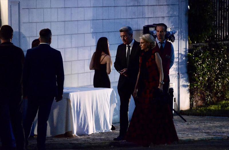 Ο γάμος της δεκαετίας: Παντρεύτηκαν Σάκης Ρουβάς και Κάτια Ζυγούλη! (εικόνες)