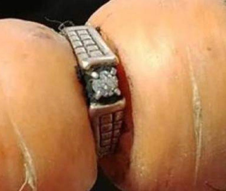 Εχασε το δαχτυλίδι των αρραβώνων της πριν 13 χρόνια -Το βρήκε σε καρότο! (εικόνες)