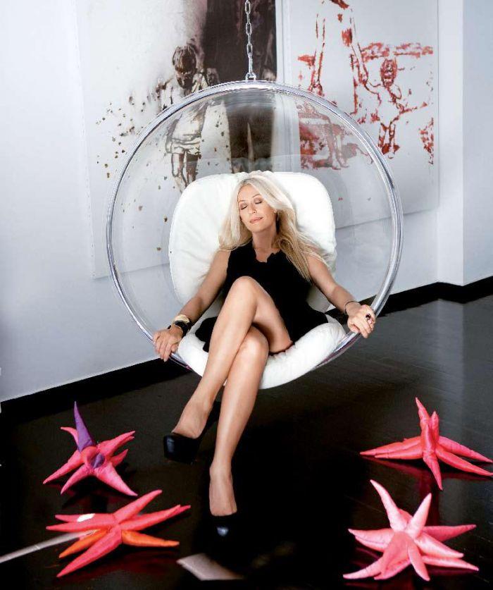 Μαρία Μπακοδήμου: Δείτε φωτογραφίες από το μοντέρνο σπίτι της παρουσιάστριας