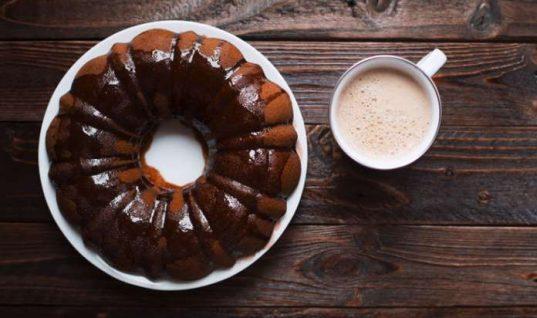 Κέικ σοκολάτας με καφέ!